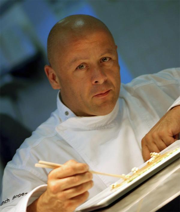 Thierry marx se met l 39 eau pour badoit - Restaurant thierry marx cuisine moleculaire ...